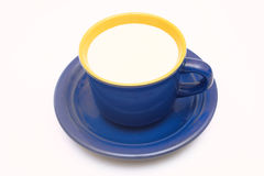 Cup of milk. Stock Photo