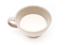 Cup of milk. Royalty Free Stock Images
