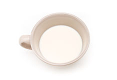 Cup of milk. Royalty Free Stock Photos