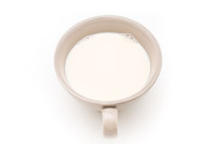 Cup of milk. Royalty Free Stock Image