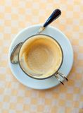 Cup of milk coffee Stock Image