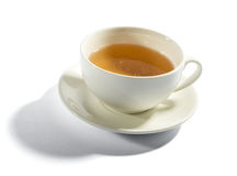 Cup of milky tea Royalty Free Stock Image