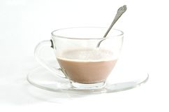A cup of Milo sweet Royalty Free Stock Image