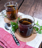 Cup of Mint Tea Royalty Free Stock Images