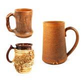 Cup mit drei Bieren Stockfotografie