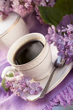 Cup mit Kaffee Stockfotografie