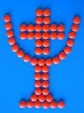Cup mit Kreuz nach innen vektor abbildung