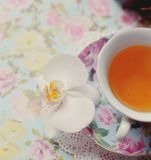 Cup mit Tee Lizenzfreie Stockfotos