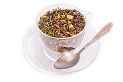 Cup mit Tee Brew lizenzfreies stockfoto