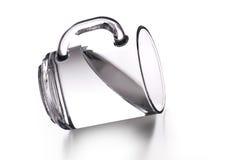 Cup mit Wasser Stockfotografie