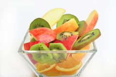 Cup of mixed fruit. Stock Photo