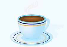 Cup of morning coffee Royalty Free Stock Photography