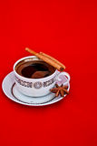 A cup of morning coffee Royalty Free Stock Photos