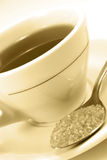 Cup of morning tea Stock Photography