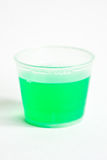Cup of mouthwash Stock Photo