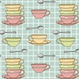 Cup-Muster Stockfotos