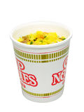 Cup noodle. Isolated Royalty Free Stock Image