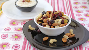 Cup of nuts Royalty Free Stock Photography