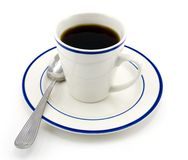 Free Cup Of Black Coffee Royalty Free Stock Photography - 4054617