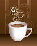 Cup Of Coffe. Vector Stock Image