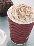 Cup Of Hot Chocolate Stock Photo
