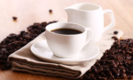 Cup Of Hot Coffe Stock Image
