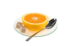 Cup Of Orange Stock Images