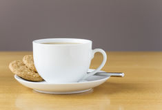 Free Cup Of Tea With Cookies Stock Image - 40519871