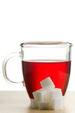 Cup Of Tea With Sugar Royalty Free Stock Images