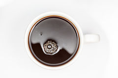An cup off coffee Stock Images