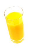 Cup of orange juice Royalty Free Stock Photos