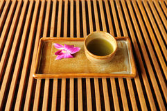 Cup of oriental tea Royalty Free Stock Image