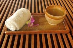 Cup of oriental tea Stock Image