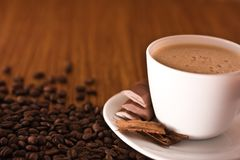 Cup pf coffee Stock Images