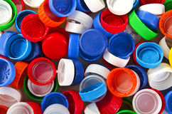 Cup of plastic Stock Images