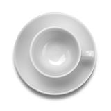 Cup and plate Stock Photo