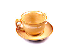 Cup and plate Royalty Free Stock Photography