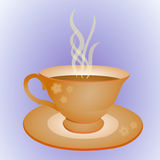 Cup and plate stock photos