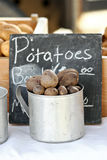 Cup of Potatoes Royalty Free Stock Photos