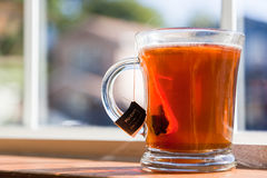 Cup of pu erh tea Royalty Free Stock Images