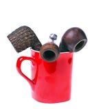 cup rør Fotografering för Bildbyråer