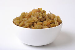 Cup of raisins Stock Photo