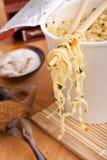 Cup of ramen noodles Stock Photo