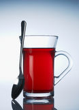 Cup of red fruit tea Royalty Free Stock Photo