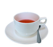 Cup of red fruit tea Stock Photography