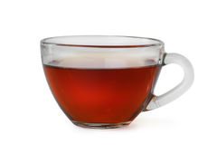 Cup of red tea. The cup of red tea royalty free stock photos