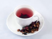 Cup of red tea Royalty Free Stock Images