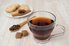 Cup of red tea Royalty Free Stock Image