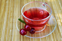 Cup of red tea Stock Photos