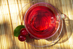 Cup of red tea Stock Images